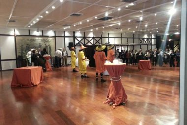 Show de candombe de Tamborilearte